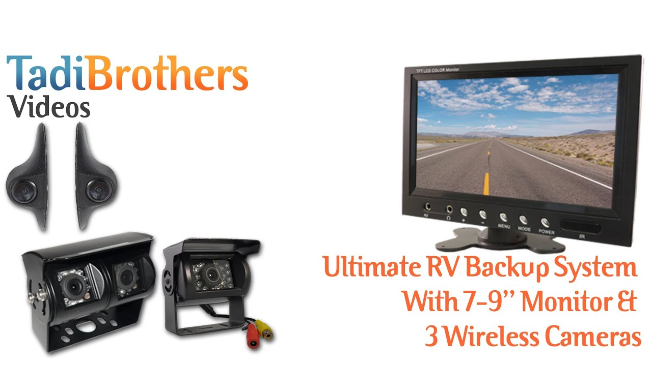 Tadibrothers wireless backup camera