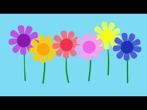 Limba engleza pentru copii - Cantecelul culorilor