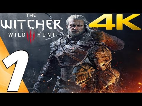 The Witcher 3 Wild Hunt - Gameplay Walkthrough Part 1 - Prologue [ULTRA 4K 60FPS] GOTY Edition