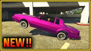 GTA 5 Lowriders DLC - Faction Customization Guide & Hydraulics Gameplay Paint Jobs (GTA 5 Online)