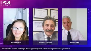 How should you approach patients with a vasculogenic erectile dysfunction? - PCR e-Course 2020