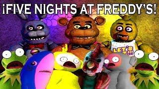 ¡FIVE NIGHTS AT FREDDY'S! con Santikun, Jannsus, Karloz, TheKio18 y Kendo P |Garry's Mod|