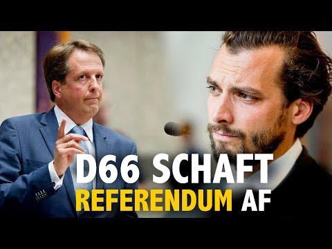 D66 schaft referendum af! Kom in actie!