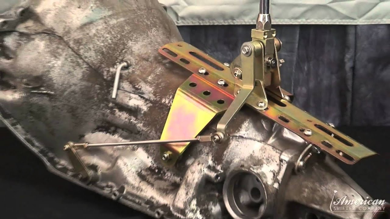 Gm 350 Th Dual Action Shifter Installation Video From