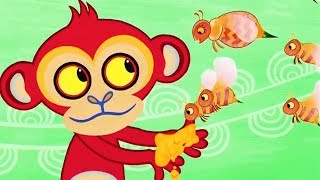 Tinga Tinga Tales Official Full Episodes | Why Bee Sting | Cartoon For Children