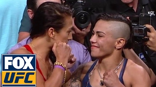 Joanna Jedrzejczyk vs. Jessica Andrade | Weigh-In | UFC 211