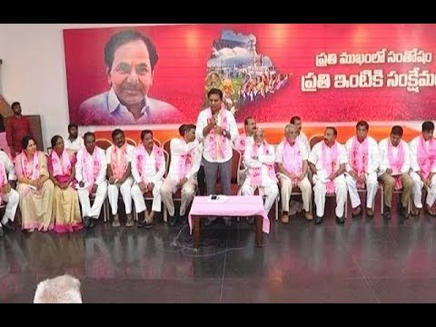 KTR LIVE : TRS Party Executive committee meeting @TRS Bhavan - TV9