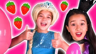 COMPILATION: Best of 2017 - Surprise Eggs, Pranks & More! - Princesses In Real Life | Kiddyzuzaa