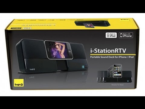 Logic3 i-Station RTV WIP016 iPod/iPhone Dock Unboxing, Review and Product Tour All in One