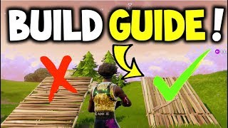 How to Build like a PRO! - Fortnite Battle Royale (Improve Building, Guide to help you WIN!) Secrets