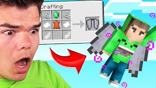 CRAFTING Will CURSE Or BLESS You! (Minecraft)