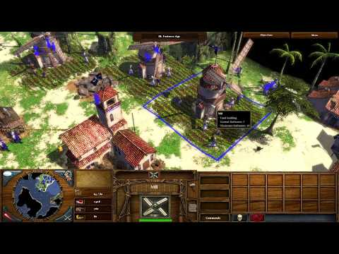 Age of Empires III: The WarChiefs Campaign Act I Blood Lizzie The Pirate