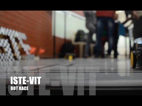 ISTE VIT Bot Race, Sept 7-8.