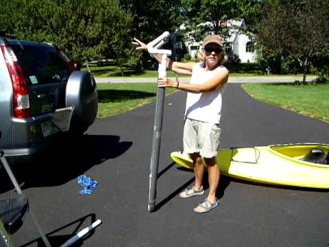 Homemade Pvc Kayak Loader Youtube