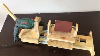 4 in 1 Drill Press Build Pt3 : Thickness Sander / 4 in 1 Sütun Matkap 3. Bölüm