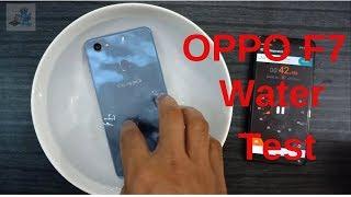 oppo F7 water test || Is it waterproof??