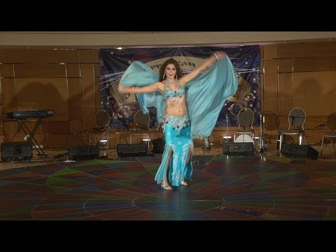 Jasmina - Mediterranean Delight Belly Dance Festival Greece 2014 video