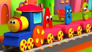 Bob The Train | Alphabet Train | Learn English For Children | Kids Learning Video