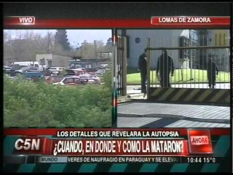 C5N - CASO MELINA ROMERO: DIA DE LA AUTOPSIA (PARTE 3)