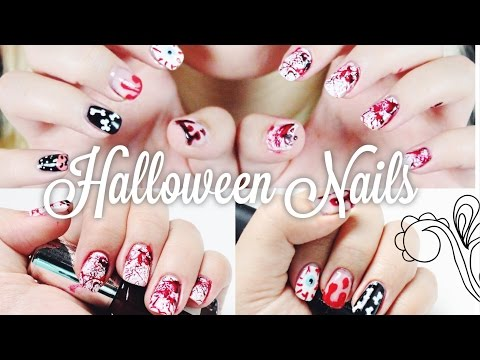 2 HALLOWEEN NAIL - Tutorials + XXL VERLOSUNG -- ♡ CALL OF BEAUTY ♡ | Dagi Bee
