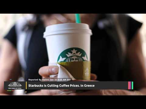 Starbucks Is Cutting Coffee Prices In Greece - TOI