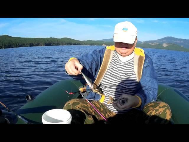 ловля окуня на озер