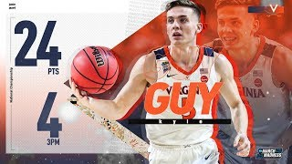 National Championship: Kyle Guy scores 24 points in Virginia's win