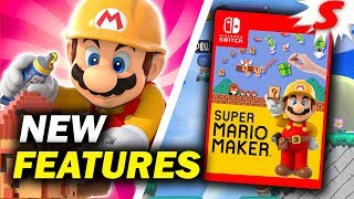 10 NEW Features That Should Be in Mario Maker Switch (Super Mario Maker Deluxe)