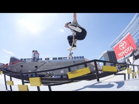 Paul Rodriguez and Nike SB Riders at Street League at X Games LA 2013