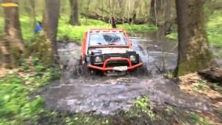 Уаз vs Suzuki Samurai Off Roading 4х4 Trailer
