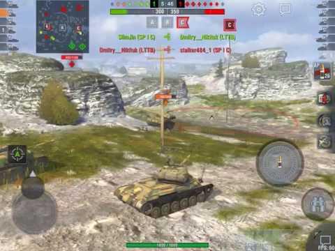World of tanks blitz LES JUMEAUX EN (LTTB) Tiers 7