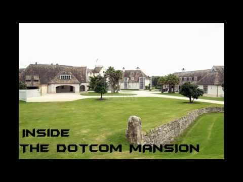 Inside Kim Dotcom's mansion - Megaupload founder [HD]