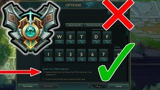 Master Player's Settings and Hotkeys - (League of Legends)