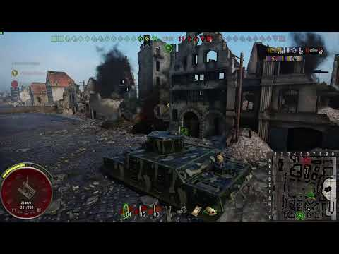 World of Tanks O-I Experimental 10 kill Xbox one (modo reprise)