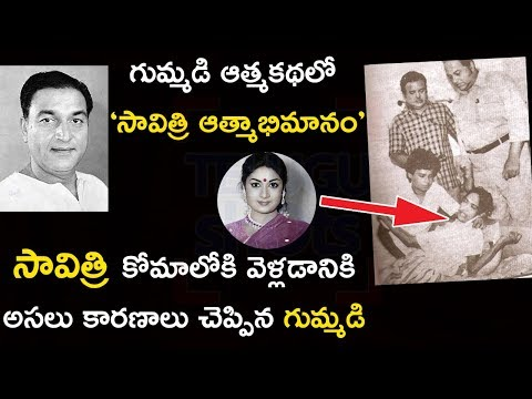 Actor Gummadi About Savitri Last Days - Telugu Shots
