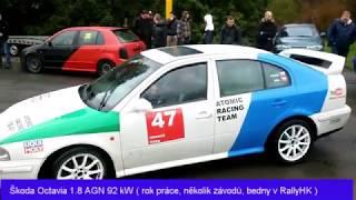 Všechny moje ZÁVODNÍ autíčka ( Micra, Seat, Mazda, Peugeot, Ford atd. )