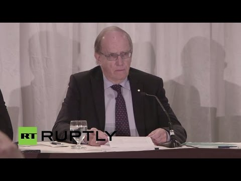 LIVE: WADA presents independent commission report on doping