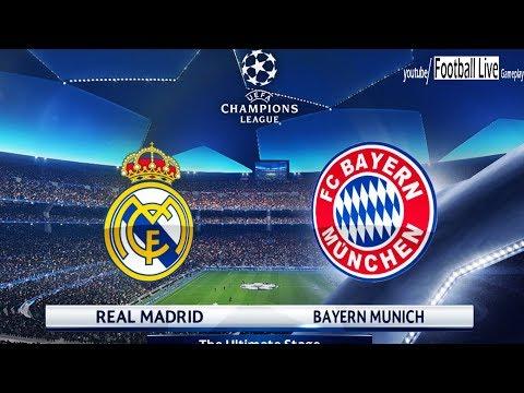 PES 2018 | Real Madrid vs Bayern Munich | UEFA Champions League (UCL) | Gameplay PC thumbnail