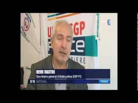 22/10/2012 Henri Martini sur France 3