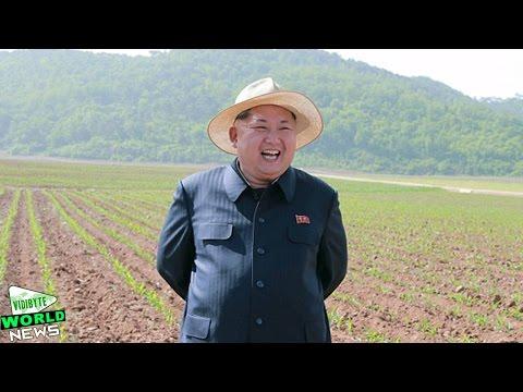 Kim Jong Un Wears Stylish Panama Hat During Farm Tour