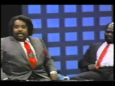 Al Sharpton knocked on his ass by  Roy Innis