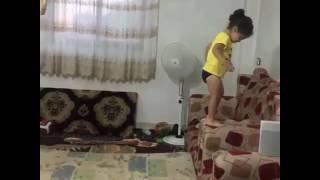 Littal jimnastic girl