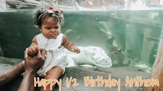 HAPPY 1/2 BIRTHDAY, ANTHEM! VLOG! | Paige Danielle