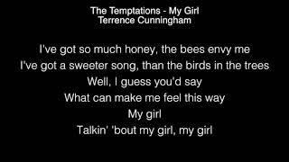 Download Lagu Terrence Cunningham - My Girl Lyrics (The Temptations) The Voice Gratis STAFABAND