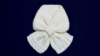 How to Knit Paragon Scarf for Baby