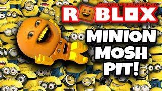 ROBLOX: Escape the Minions #2: MINION MOSH PIT! 🍊💨 [Annoying Orange Plays]