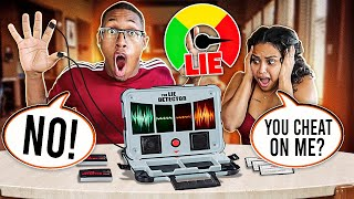 COUPLES LIE DETECTOR TEST!! ( SHE CHEATED ON ME)💔