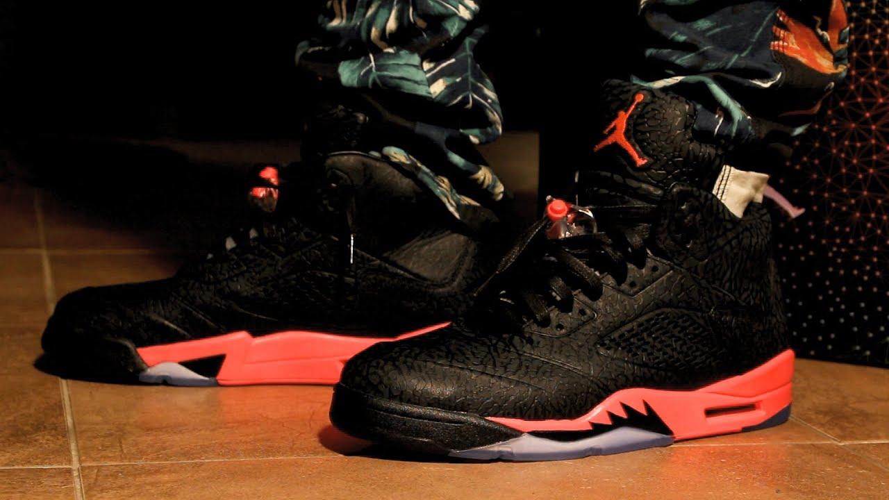 Infrared 3lab5 w/ on Feet