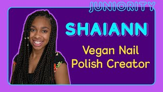 VEGAN NAIL POLISH by Shaiann Hogan