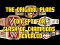 WWE Clash Of Champions 2016: Vince McMahon's ORIGINAL WWE